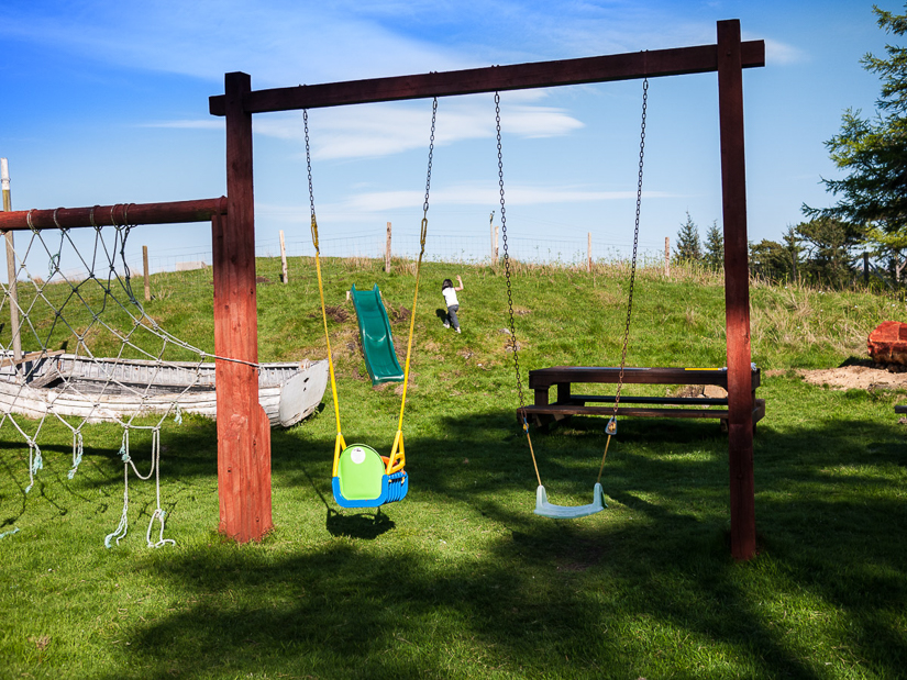 Self Catering with playground for children