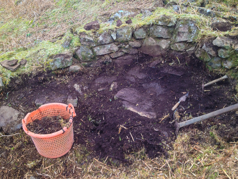 archaeology dig reveals Corn kiln