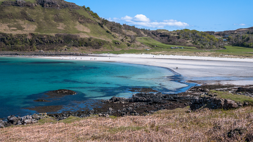 Calgary beach on the isle of Mull