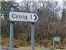Croig junction