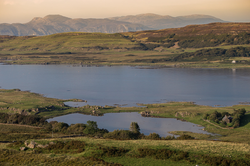 View over Loch Cuin and the oogart
