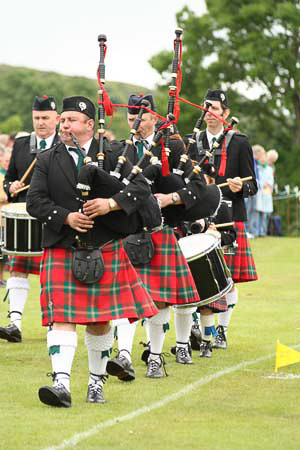 Isle of Mull highland games