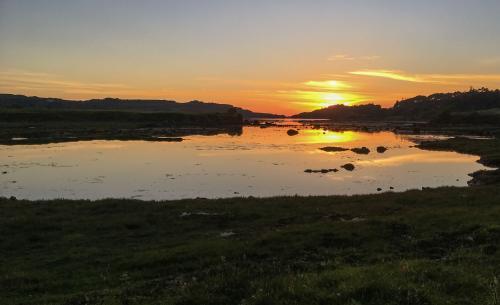 Loch cuin sunset